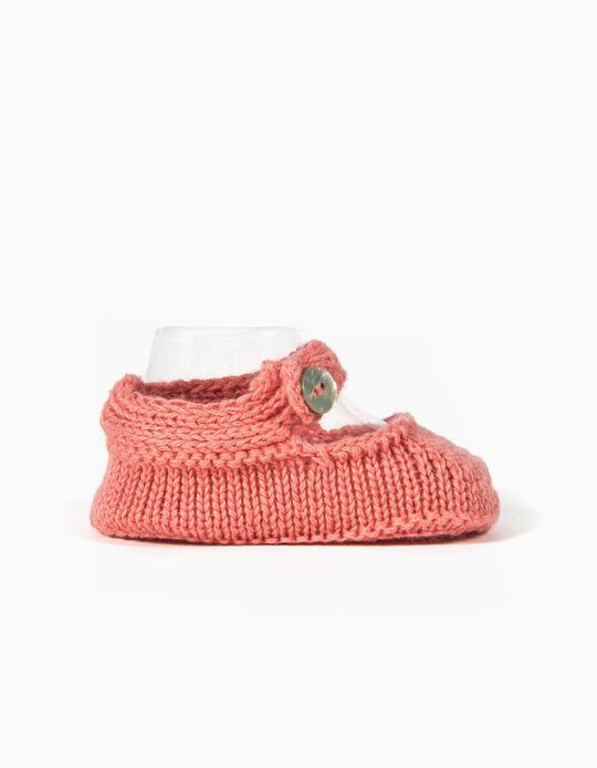 Botas de Punto Rosa