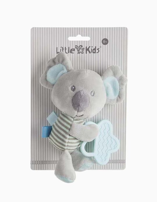 TEETHER 20CM KOALA LITTLE KIDS BLUE