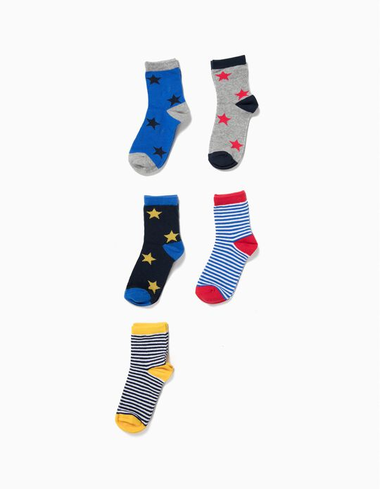 Pack 5 Pares Calcetines a Color