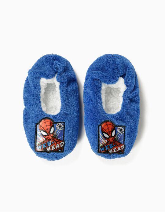 Zapatillas de Casa para Niño 'Spider-Man', Azules