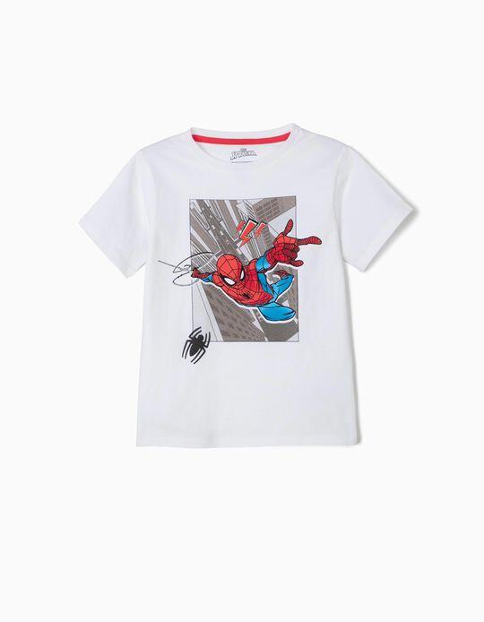 Camiseta para Niño 'Spider-Man', Blanca