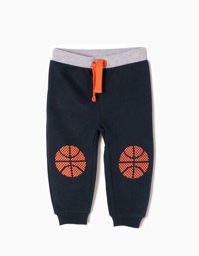 Pantalón de Chándal Basket Azules