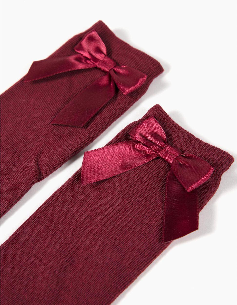 Calcetines Rojos por la Rodilla