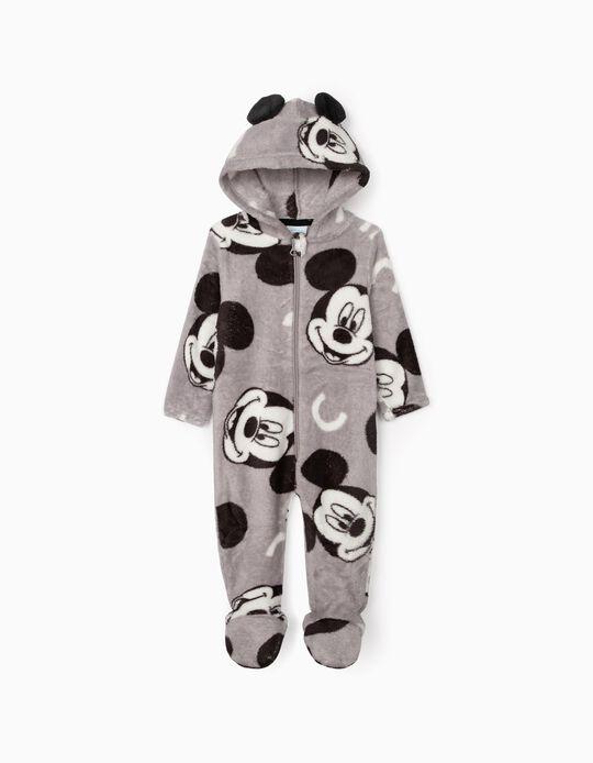 Pelele para Bebé Niño 'Mickey', Gris