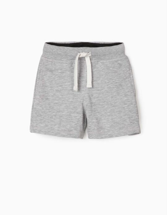 Sports Shorts for Baby Boys, Grey