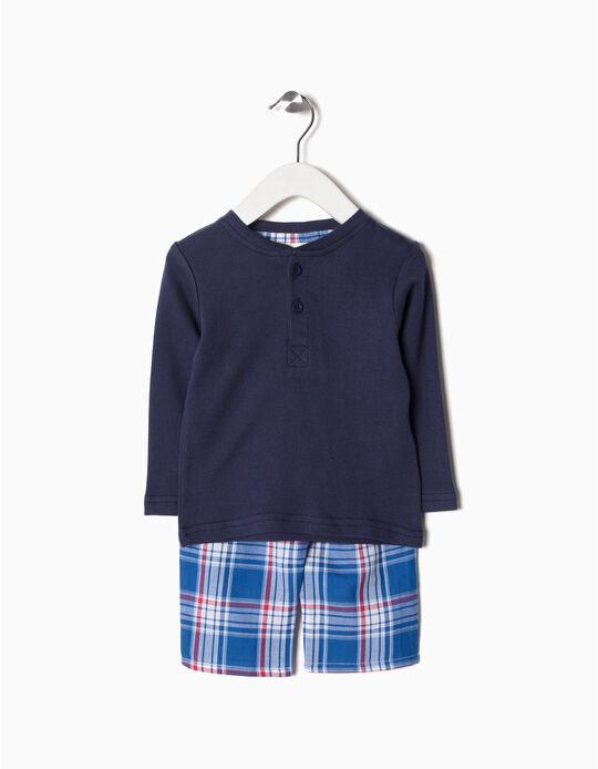Pijama Pantalón Ajedrez