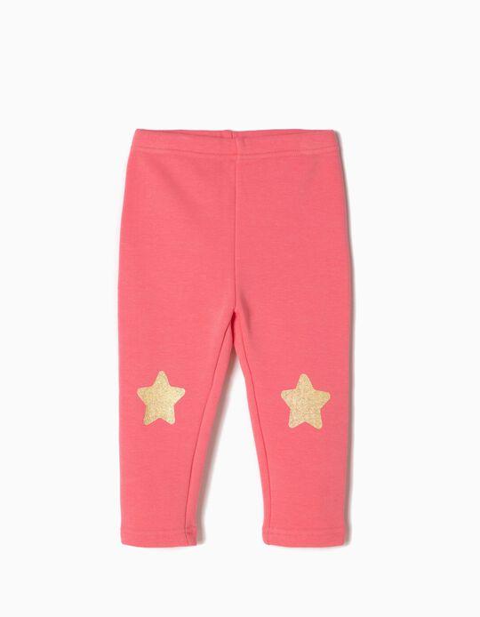 Pantalón de Chándal Estrellas Rosa