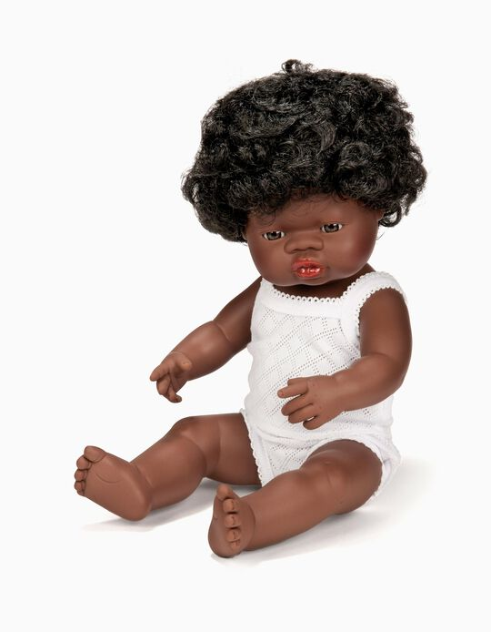 Boneca Africana 38 cm Miniland