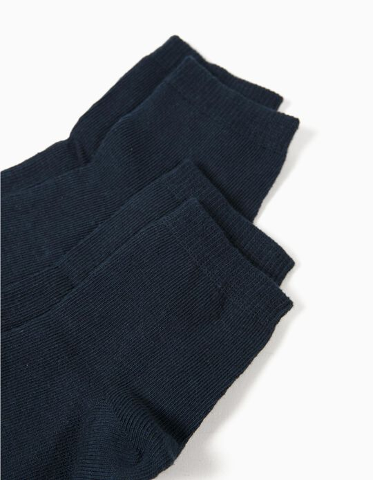 2-Pack Pairs of Socks, Blue