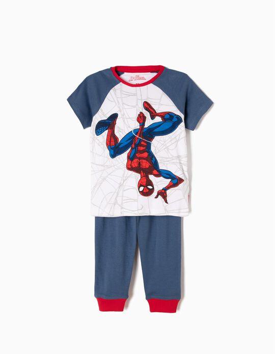 Pijama Manga Curta e Calças Spider-Man