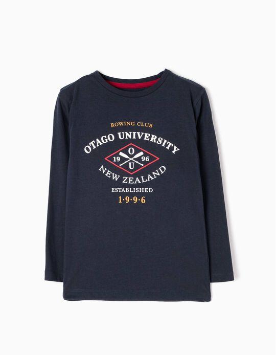 T-shirt Manga Comprida Otago University