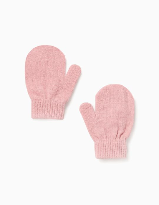 Mittens for Baby Girls, Pink