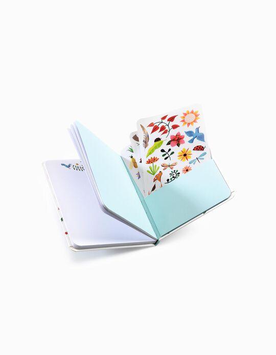 Cuaderno con Adhesivos Djeco