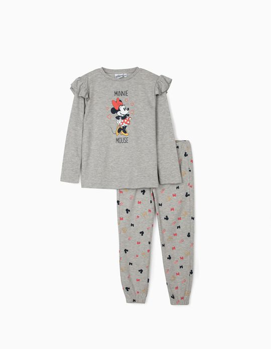 Pijama para Niña 'Minnie Mouse', Gris