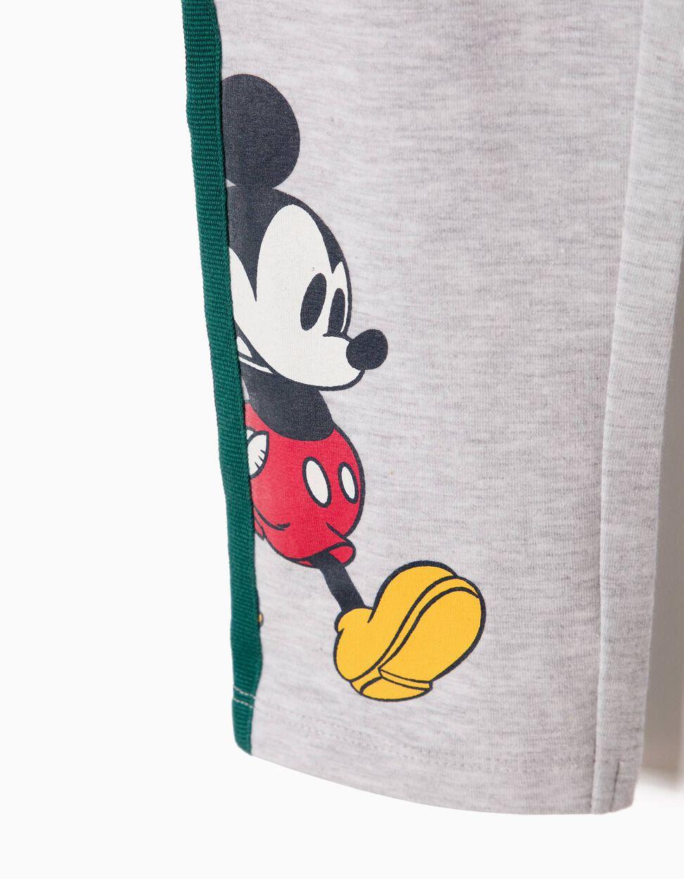 Leggings Mickey & Minnie Grises