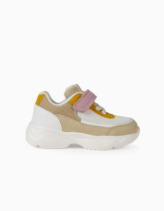 Chunky Trainers for Baby Girls, 'ZY Superlight Runner', Multicoloured