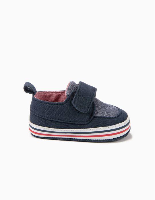 Zapatillas Pre-Walker Azules y Rojas