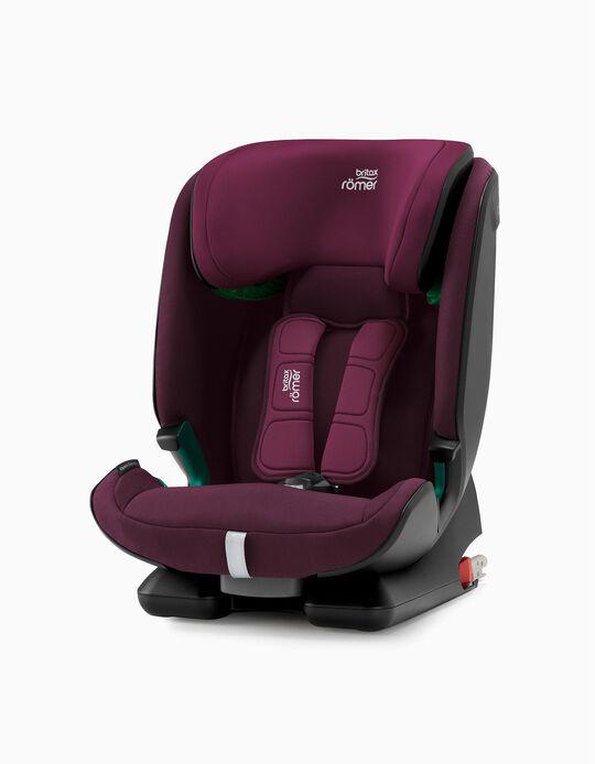 Cadeira Auto I-Size Advansafix M Britax Römer Burgundy Red