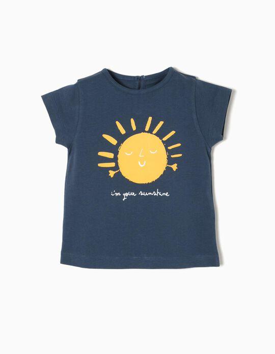 T-shirt Azul Sunshine