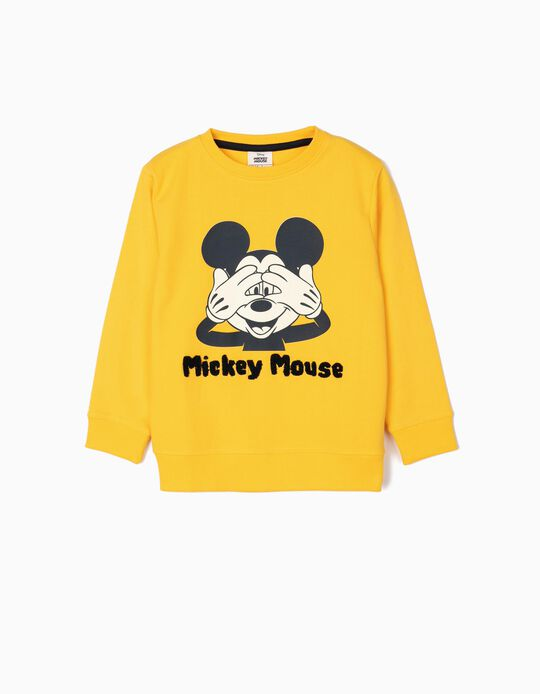 Sweatshirt para Menino 'Mickey Mouse', Amarelo