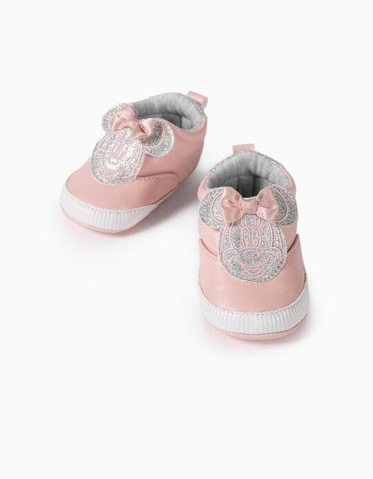 Zapatillas para Recién Nacida 'Minnie', Rosa