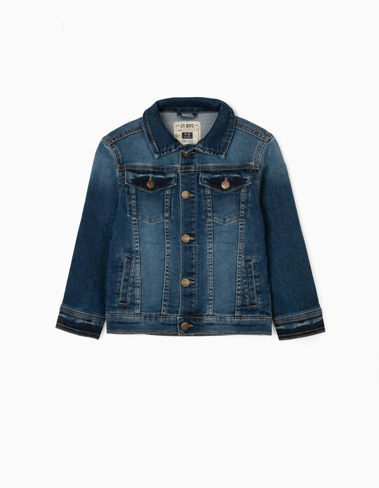 Denim Jacket for Boys 'Comfort Denim', Blue
