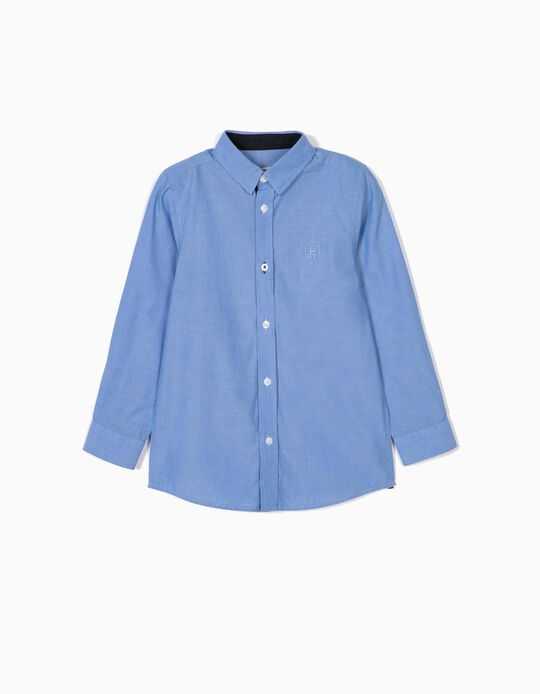 Shirt for Boys, 'B&S', Blue