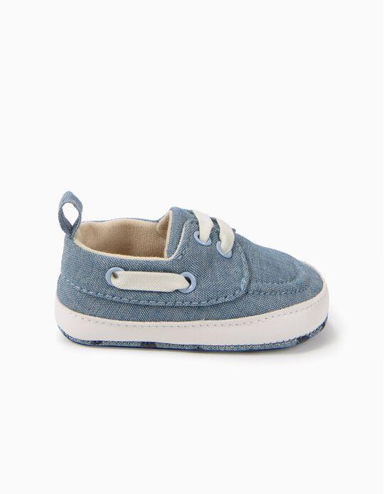 Zapatos Pre-Walker Chambray Azul Claro