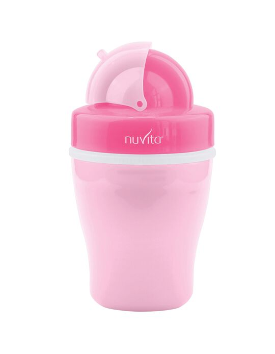 Double-Wall Cup with Hard Spout 200ml by Nuvita