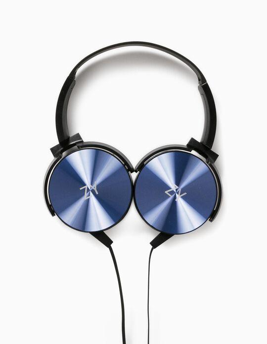 Headphones for Kids, Blue/Black