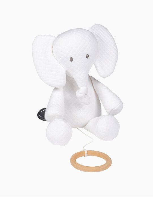 Juguete Musical Tembo Elephant Jacqard Nattou