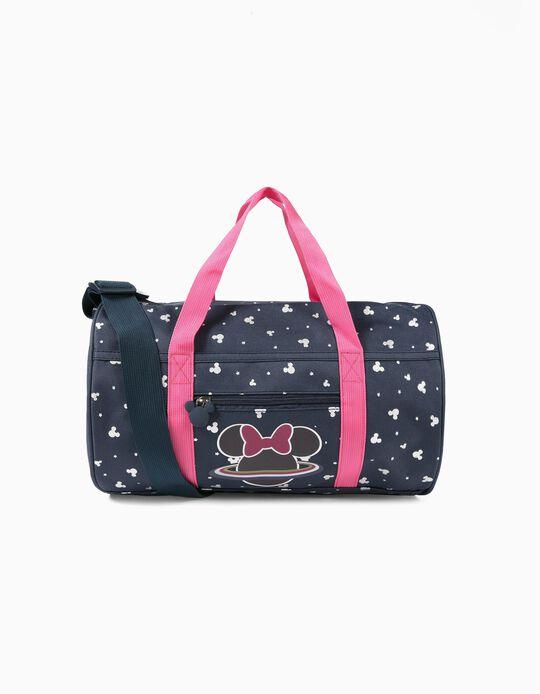 Saco Desporto para Menina 'Minnie Space', Azul Escuro