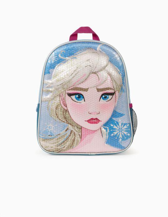 Mochila para Menina 'Frozen', Azul/Rosa