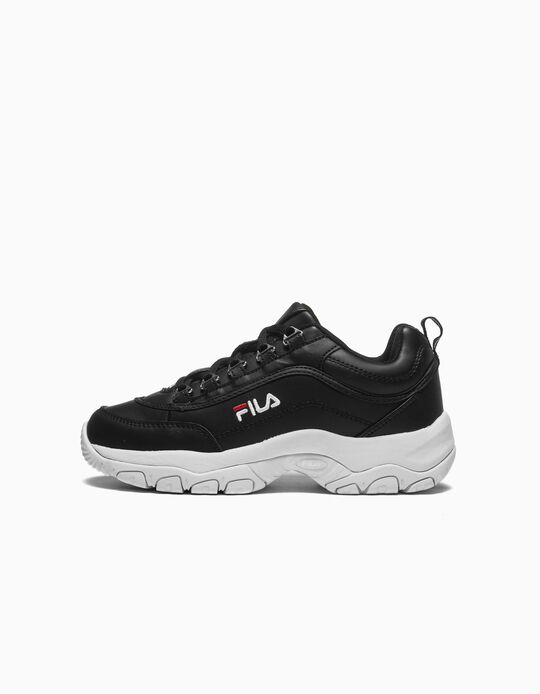 Trainers Chunky for Kids 'Fila Strada', Black