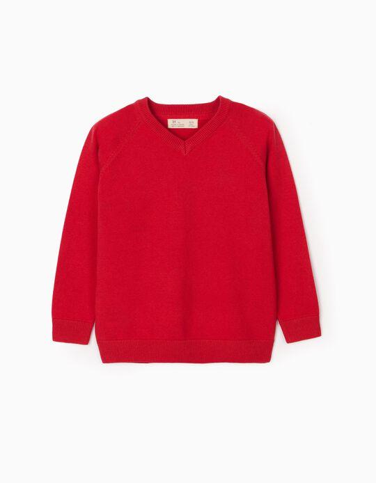 Jersey para Niño, Rojo