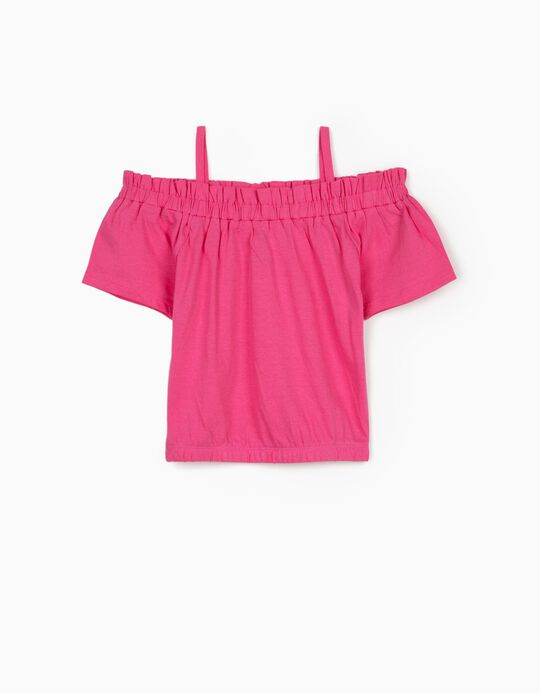 Top for Girls, Pink