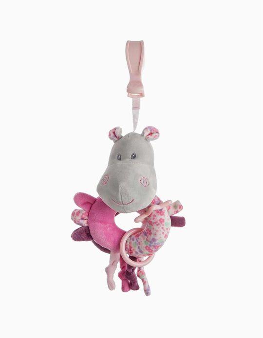 CLIP 20CM HIPPO LITTLE KIDS ROSE