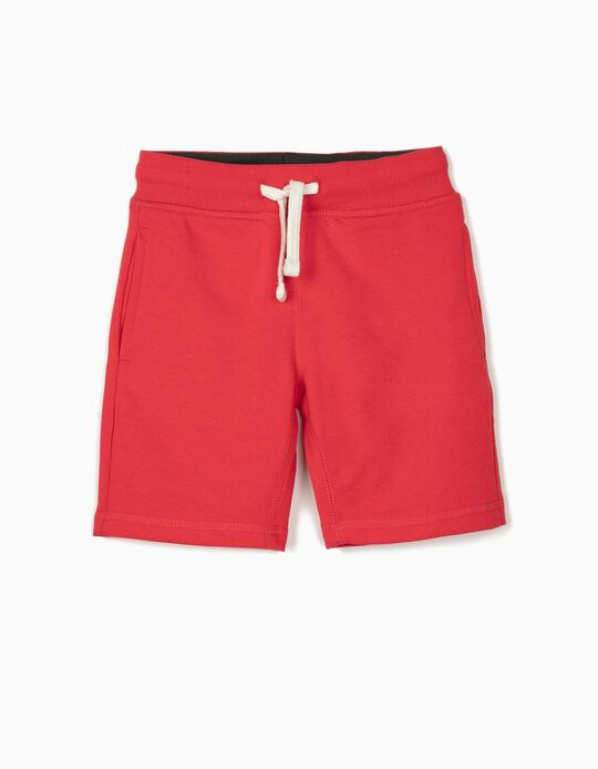 Sports Shorts for Boys, Red