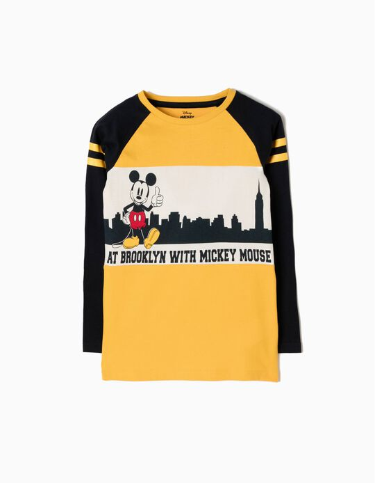 Camiseta de Manga Larga Mickey Brooklyn