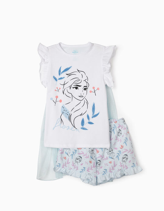 Pijama para Niña 'Frozen II', Blanco/Azul Claro