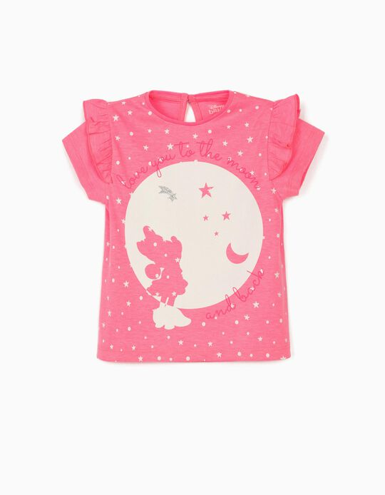 T-Shirt for Baby Girls, 'Minnie Adventure', Pink