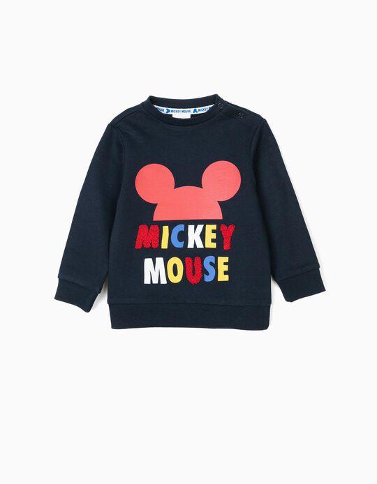 Sweatshirt para Bebé Menino 'Mickey', Azul