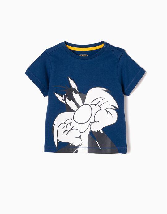 Camiseta Silvestre Azul