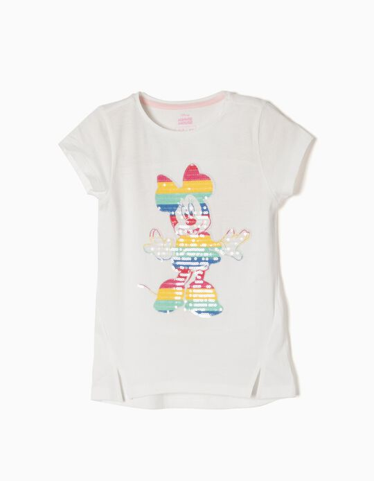 Camiseta Minnie Rainbow
