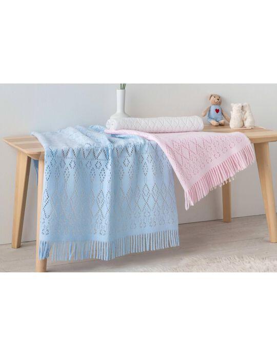 Crochet Blanket 80x90 cm by Pielsa Baby