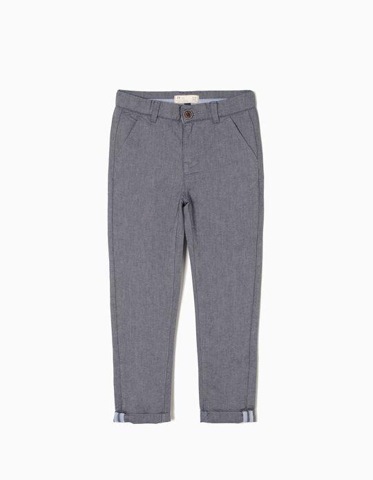 Pantalón Azul Oscuro
