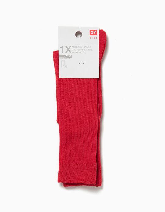 Calcetines de Canalé por la Rodilla