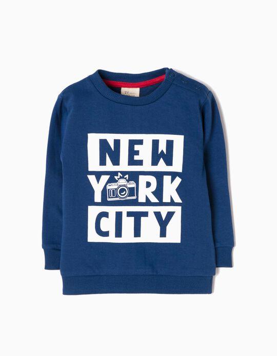 Sudadera NYC Azul