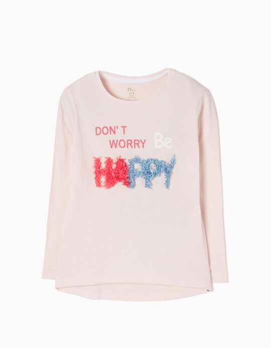 Camiseta de Manga Larga Happy