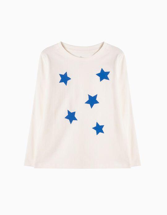 T-shirt Manga Comprida Stars